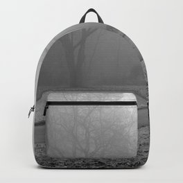 Whitetail Deer in the Fog Backpack