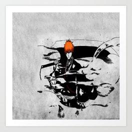 ichigo bleach Art Print
