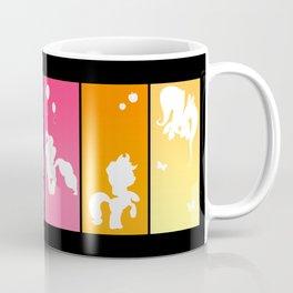 Rainbow Ponies Coffee Mug
