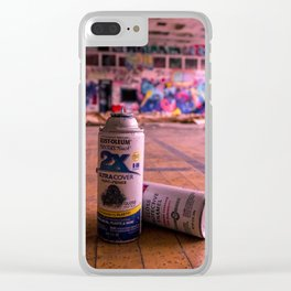 Stay Tagged Clear iPhone Case