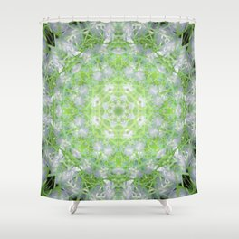 Back To Nature Mandala Abstract Design Shower Curtain