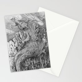 Mother Dragon Stationery Cards