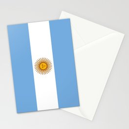 Flag Of Argentina Stationery Cards