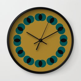 Pattern with No Name Wall Clock