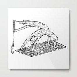 SUP Stand Up Paddle Origin Metal Print
