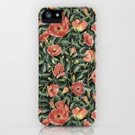 Campsis love iPhone Case