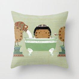 Cook test Throw Pillow