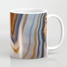 Layered agate geode 3163 Coffee Mug