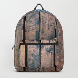 wood background Backpack