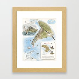 Cape Horn - Exploration AD 1616 Framed Art Print