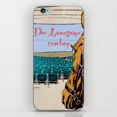 Lonesome cowboy iPhone & iPod Skin