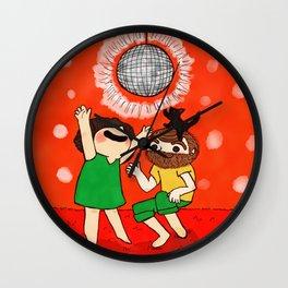 Disco Time Wall Clock