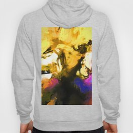 Eyes Yellow Petals Hoody