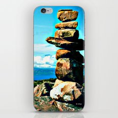 Rocks to Heaven iPhone & iPod Skin