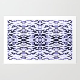 You're Only Coming Through in Waves Art Print