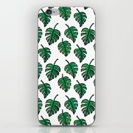 GREEN PLANTS iPhone Skin