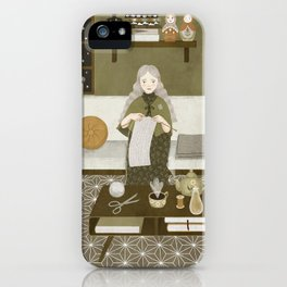 knitting magic iPhone Case