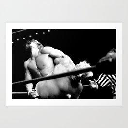 Kevin VonEric vs Dick The Bruiser wrestling Art Print