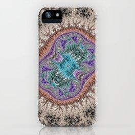 Fractal Fresco iPhone Case