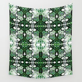 Symmetrical Cat (-116) Wall Tapestry