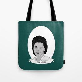 Viola Desmond Illustrated Portrait Tote Bag