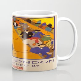 Vintage poster - Brightest London Coffee Mug