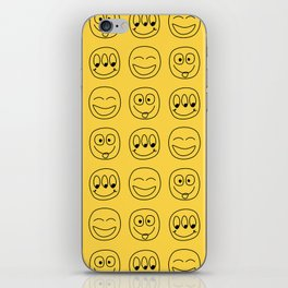 Smile Emoji iPhone Skin