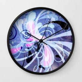 Curlicue Wall Clock