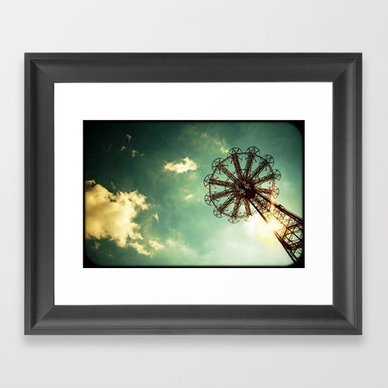 Catch The Wind Framed Art Print