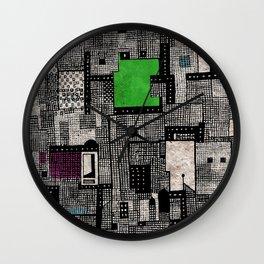 Central Park II Wall Clock