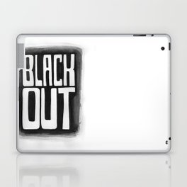Black Out No.2 Laptop & iPad Skin