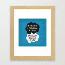 The Fault 08 Framed Art Print