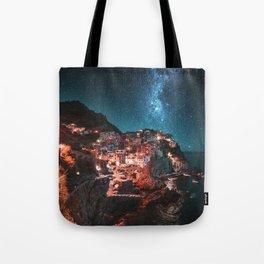 manarola by night Tote Bag