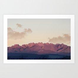 New Mexico Desert Art Print
