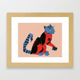 Dex-Starr Framed Art Print