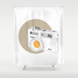 Yashica Electro 35 GSN Camera Shower Curtain