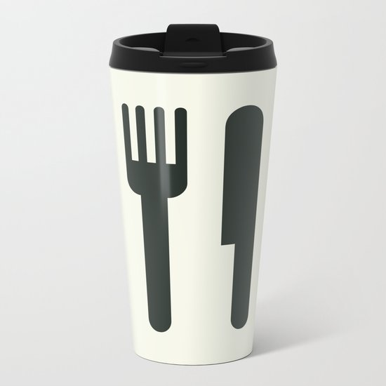 Food Metal Travel Mug