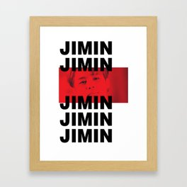 BTS - JIMIN Framed Art Print