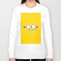 minion Long Sleeve T-shirts featuring MINION by Acus