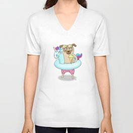 Dog Days Of Summer Unisex V-Neck