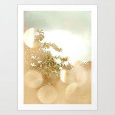 Spring Bokeh Art Print