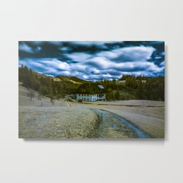 Alpine spring, Austria Metal Print