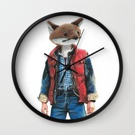 Michael J. Fox Wall Clock