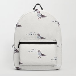 Zut Alors // French Birds Backpack