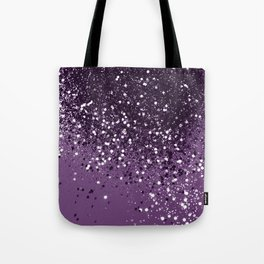PURPLE Glitter Dream #1 #shiny #decor #art #society6 Tote Bag