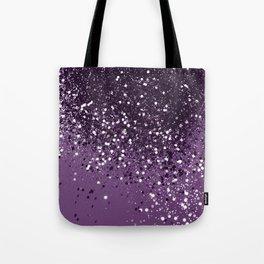 PURPLE Glitter Dream #1 #shiny #decor #art #society6 Tote Bag