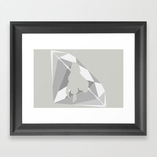 Emma Frost Framed Art Print