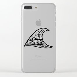 Wave in a Wave Clear iPhone Case