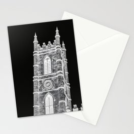 inverted church tower Stationery Cards