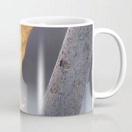 Glowing Lilac Leaf Coffee Mug